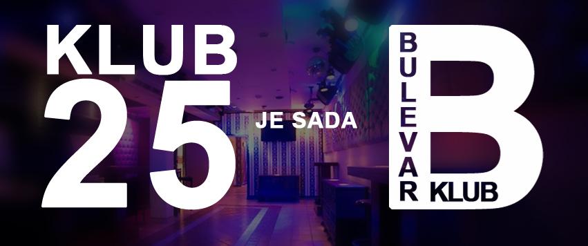 Bulevar klub ex klub 25